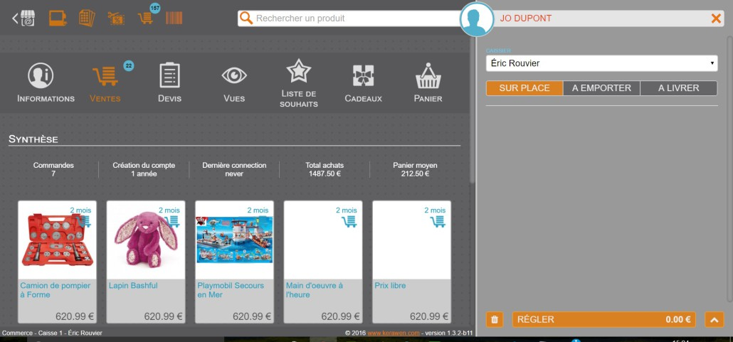 voir les activités Web et magasin de vos clients en un clic